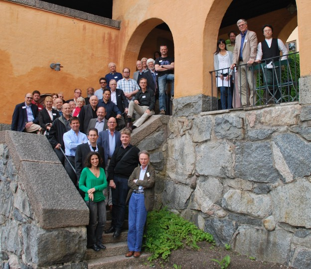 Free Will group photo taken at the Sigtuna Foundation 27 June 2017